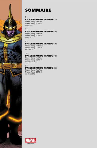Page 2 L'ascension de Thanos (must have)