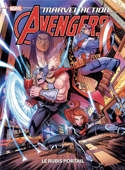 Couverture Marvel action avengers tome 2