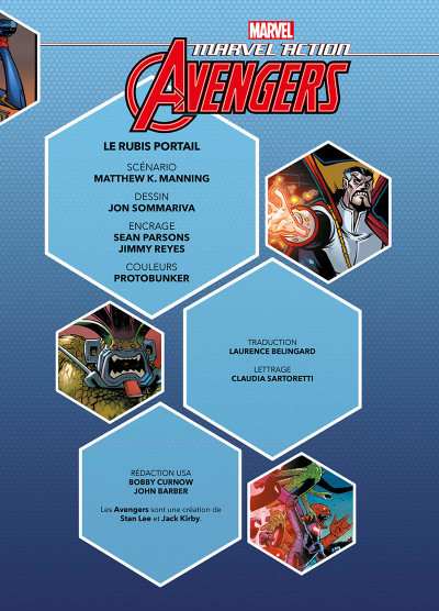 Page 3 Marvel action avengers tome 2
