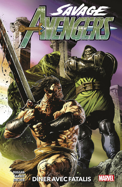 Couverture Savage Avengers tome 2
