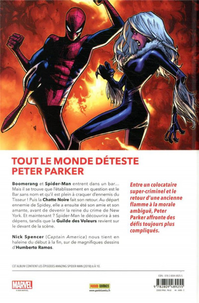 Dos The amazing Spider-Man tome 2