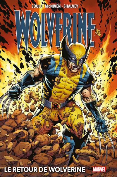 Couverture Le retour de Wolverine