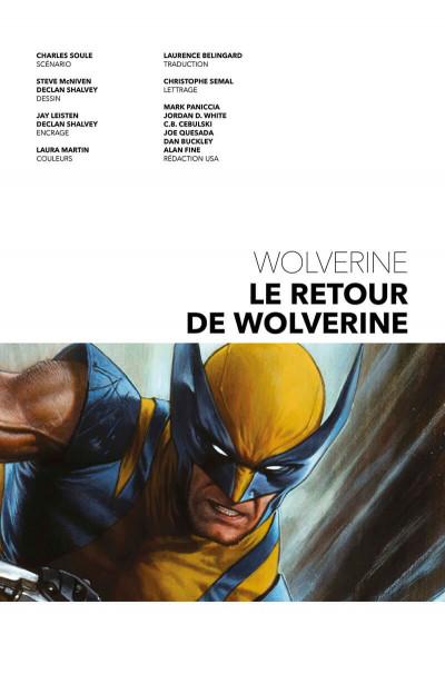 Page 3 Le retour de Wolverine