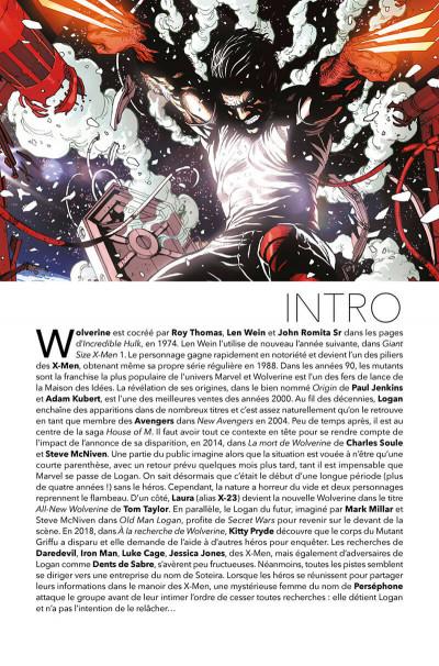 Page 4 Le retour de Wolverine