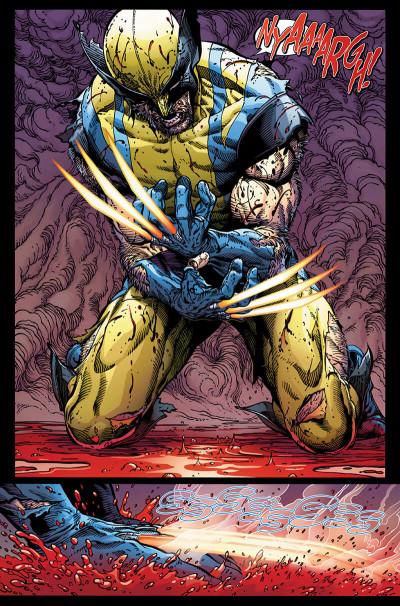 Page 9 Le retour de Wolverine