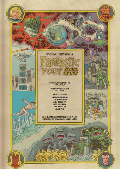 Page 3 Quatre fantastiques - Grand design