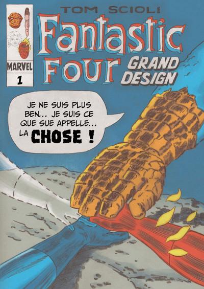 Page 5 Quatre fantastiques - Grand design
