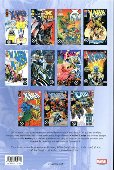 Dos X-Men - intégrale tome 40