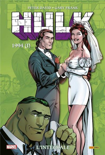 Couverture Hulk - intégrale tome 10