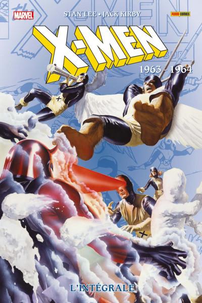 Couverture X-men - intégrale tome 10 - 1963-1964