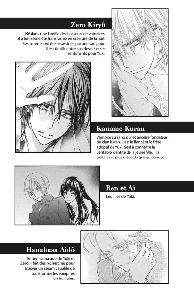 Page 4 Vampire knight - mémoires tome 5