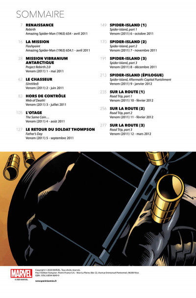 Page 2 Agent Venom tome 1