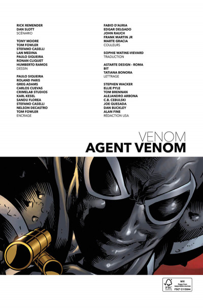 Page 3 Agent Venom tome 1