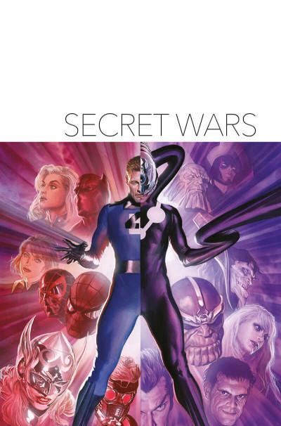 Page 1 Secret wars (deluxe)