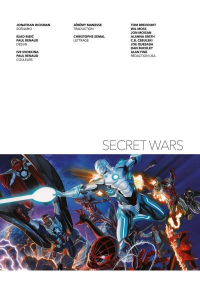 Page 3 Secret wars (deluxe)