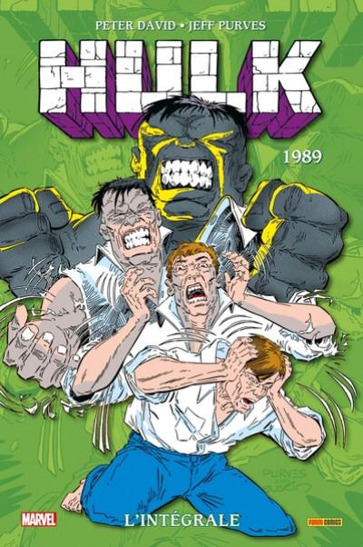 Couverture Hulk - intégrale tome 4