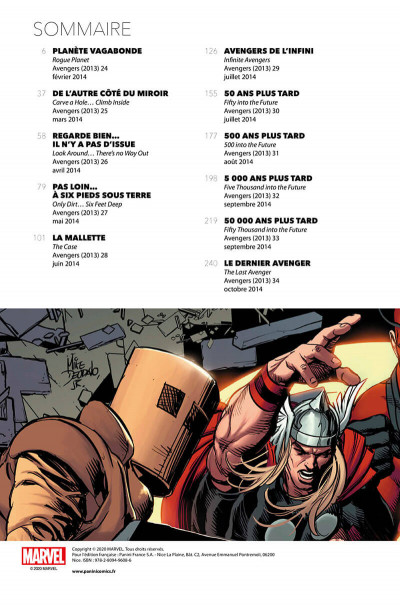 Page 2 Avengers (marvel deluxe) tome 3