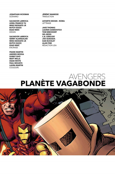 Page 3 Avengers (marvel deluxe) tome 3