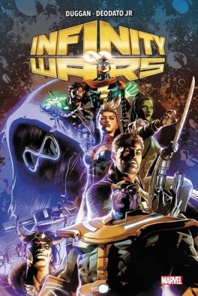 Couverture Infinity wars (marvel deluxe)