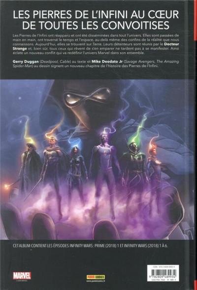 Dos Infinity wars (marvel deluxe)