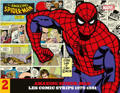 Couverture The amazing Spider-Man - Les comic strips - 1979-1981
