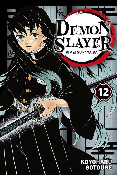 Couverture Demon slayer tome 12