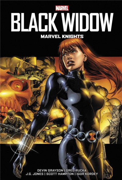 Couverture Black Widow - Marvel knights