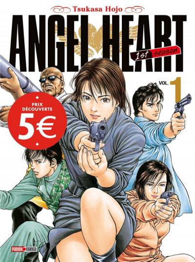 Couverture Angel heart saison 1 tome 1 (prix découverte)
