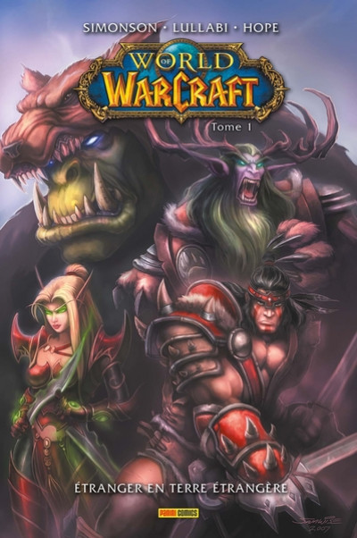 Couverture World of Warcraft tome 1