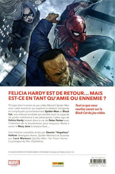 Dos Spider-man - Le casse de Black cat
