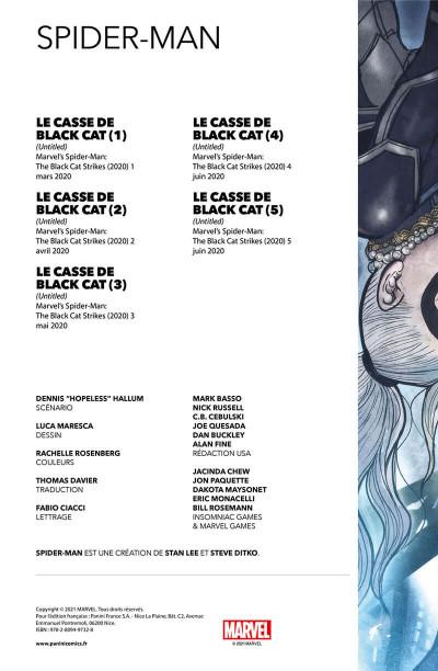 Page 2 Spider-man - Le casse de Black cat
