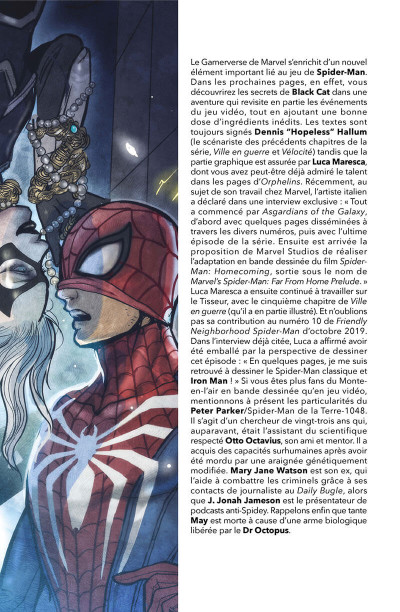 Page 3 Spider-man - Le casse de Black cat