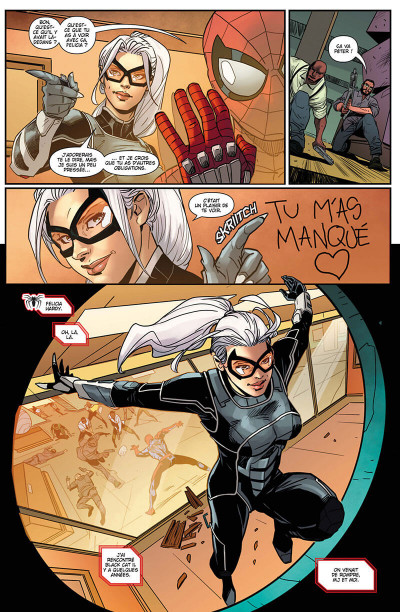 Page 9 Spider-man - Le casse de Black cat