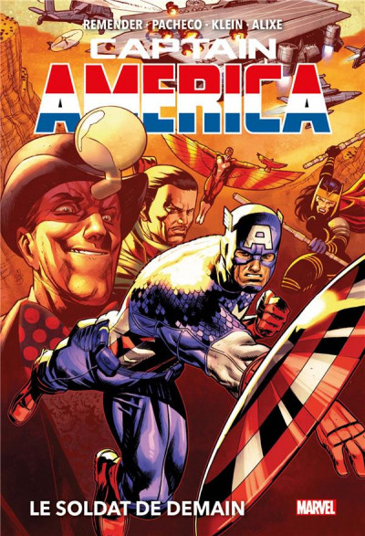 Couverture Captain America (marvel deluxe) tome 2