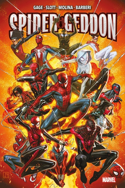 Couverture Spider-geddon (marvel deluxe)