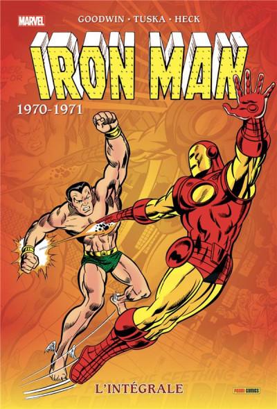 Couverture Iron man - intégrale - 1970-1971