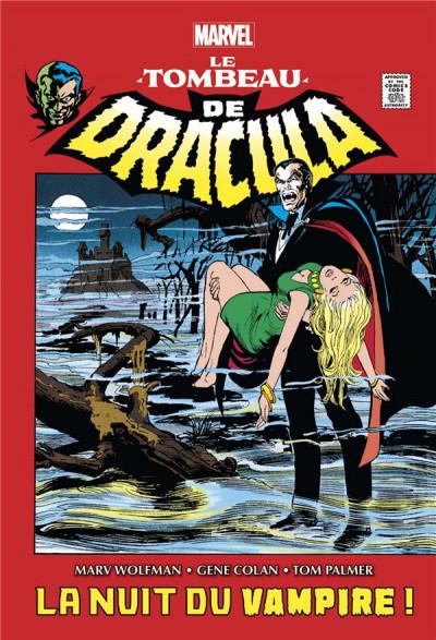 Couverture Le tombeau de Dracula