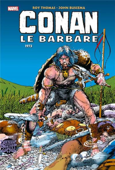 Couverture Conan le barbare - intégrale tome 4