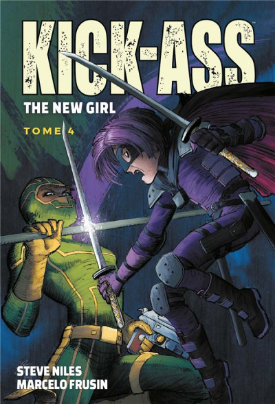 Couverture Kick ass - The new girl tome 4