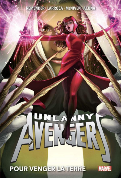 Couverture Uncanny Avengers (deluxe) tome 2