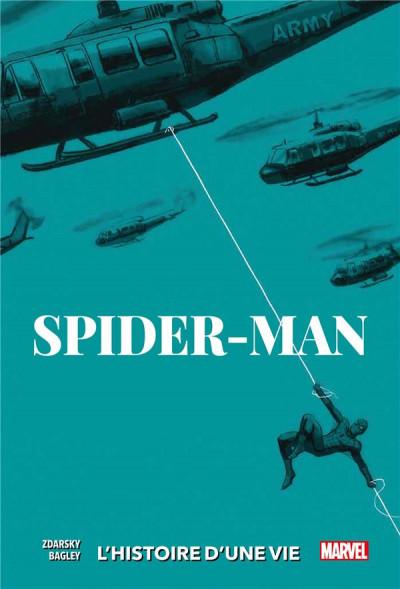 Couverture Spider-man - L'histoire d'une vie - variant 1960