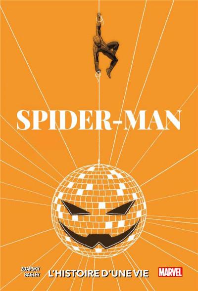 Couverture Spider-man - L'histoire d'une vie - variant 1970