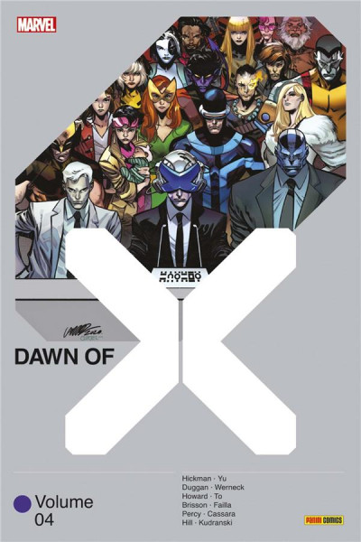 Couverture Dawn of X tome 4