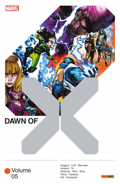 Couverture Dawn of X tome 5