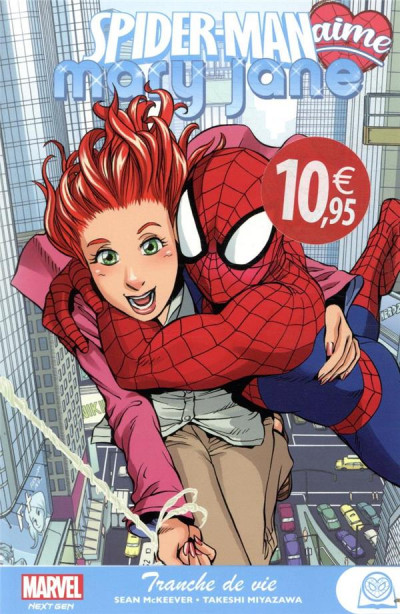 Couverture Spider-Man aime Mary Jane