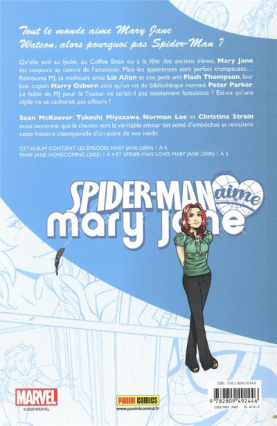 Dos Spider-Man aime Mary Jane