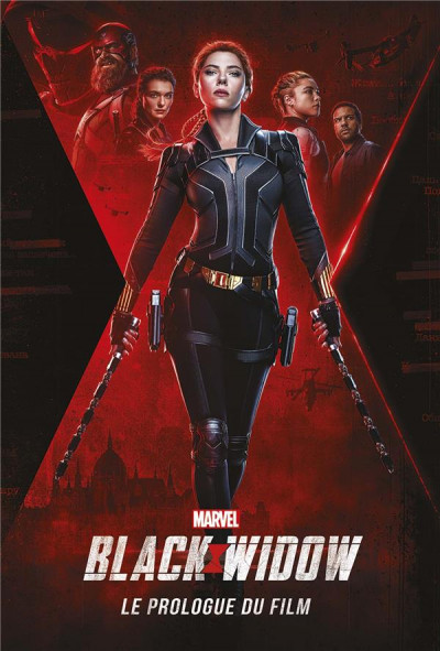 Couverture Black Widow - Le prologue du film