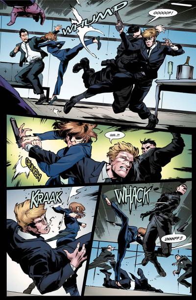Page 4 Black Widow - Le prologue du film