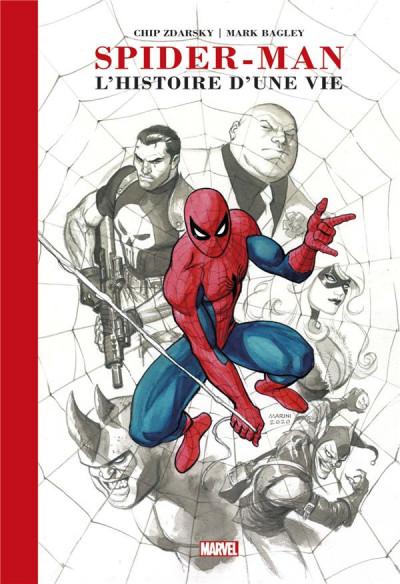 Couverture Spider-man - L'histoire d'une vie (artist edition)