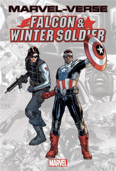 Couverture Marvel-verse - Falcon & winter soldier